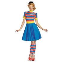 Ernie Señoras Del Traje De La Mujer Disfraz