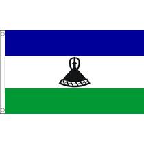 Lesotho Flag - Basotho 2006-present 3ftx 2ft Nacional