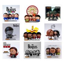 The Beatles, Figuras De Colección Pintadas A Mano. Mn4