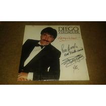Disco Acetato De Diego Verdaguer Autografiado, Estoy Celoso