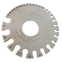 Calibrador Metalico Para Alambre No Ferroso 0-36