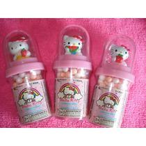 Hello Kitty Set De 3 Dispensadores De Dulces
