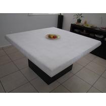 Comedor De Onix Color Blanco De 1.40x1.40x10 Para 8 Personas
