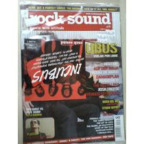 Rock Sound Revista 71 Incubus Musica Y Cd 13 Temas Y Un Vide