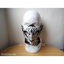 Media Máscara Con Diseño De Calavera Parca Lch2