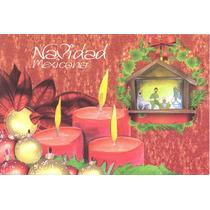 L277- Mexico 2 Enteros Postales Navidad Mexicana-