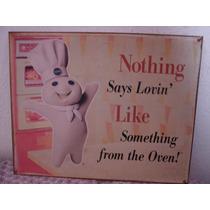 Reproducción De Publicidad Antigua De Panecillos Pillsbury