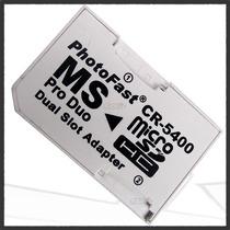 Adaptador Micro Sd Photo Fast Pro Duo Microsdhc Hasta 32gb