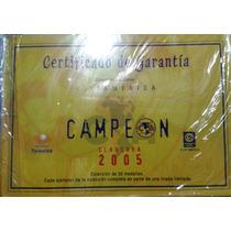 Monedas Conmemorativas Del Club América Campeón 2005