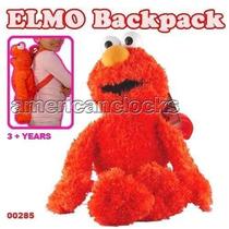 Mochila Sesame Street Elmo Figura Mochila De La Felpa