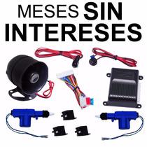Vecctronica: Paquete Audiobahn Alarma + 2 Seguros Electricos