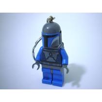 Figura De Lego Star Wars Llavero Soldado Mandalorian Keychai