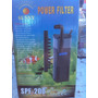 Para Tortugueros. Mini Filtro Cabeza Poder Spf200.remate