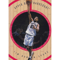 1998 Upper Deck Hardcourt Tim Duncan Spurs