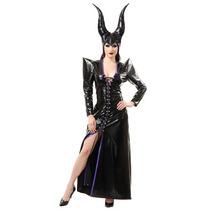 Disfraz De Bruja Malefica Para Damas, Envio Gratis