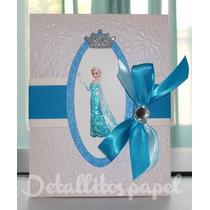 Invitaciones Frozen Princesas Anna Y Elsa Presentación, Etc.