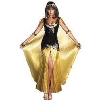Disfraz De Cleopatra, Egipcio Para Damas, Envio Gratis