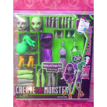 Monster High Momia Y Muneca Gorgon Set Crea Tu Monster