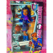 Monster High Robecca Steam Clase De Arte