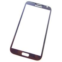 Samsung Galaxy Note 2 - Refacción Cristal Del Touch Azul !