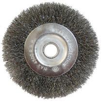 Cepillo Circular De Alambre 100 Y 13a Y 13e Mm
