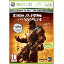Gears Of War 2 En Español Xbox 360 Nuevo