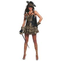 Disfraz De Zorro, Bandida Para Damas, Envio Gratis