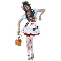 Disfraz De Zombie Dorothy De Oz Para Damas, Envio Gratis
