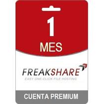 Cuenta Premium Freakshare 30 Dias Envio Gratis Garantia