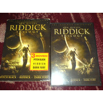 Pelicula Ridick Trilogy Edition Limitada Doble Dvd Original