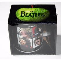 Tazas Originales The Beatles Let It Be Con Caja Decorada