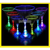 Copa Martini Luminosa Led Fiesta Bar Antro Rave Disco
