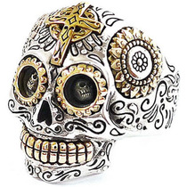 Anillos Esqueletos Calaveras Celtas Harley Rock Piratas Plus