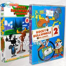 Rocky & Bullwinkle Y Sus Amigos - Primera Y Segunda Temp.