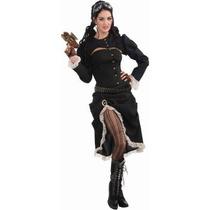 Disfraz Victoriano, Steampunk, Historico Para Damas