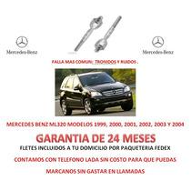 Bieletas P/caja Cremallera Direccion Mercedes Benz Ml320