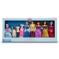 Cenicienta Exclusivo Disney Store Princesa Set De Lujo