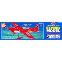Kit Para Armar Avion Guillows 703 Lc Edge 540 Scale 1/14