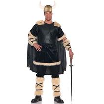 Disfraz De Vikingo, Guerrero Para Adultos, Envio Gratis