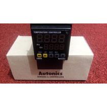 Control Temperatura Dígital 1/16din, Pirómetro, Salida Rele