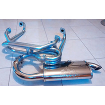 Headers Deportivo Fat Boy Vocho Full Injection Miller Vw
