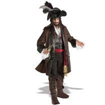 Disfraz De Lujo De Steampunk, Pirata, Historico Para Adultos