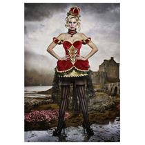 Disfraz De Reina Roja De Alicia Pais Maravillas Para Damas