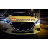 Tira Led Mazda 3 2014-2017 Parrilla Tipo Sgt M6 Envio Gratis