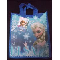 Lote 10 Bolsitas Fiestas Dulceros Frozen Elsa