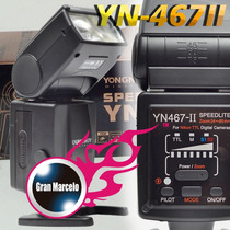 Flash Speedlight Yn467ii Para Canon
