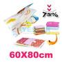 Space Bag. Comprime Tu Ropa 60 X 80 Cm. Bolsa De Vacio