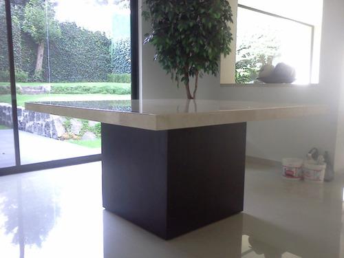Mesa para comedor marmol beige 8500 bbsaf precio d m xico for Marmol beige precio