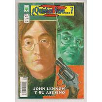 Comic John Lennon Y Su Asesino Ed Vid 2002