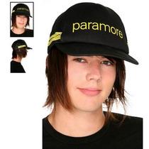 Hot Topic Gorra Paramore Yellow Stripe Trucker Hat